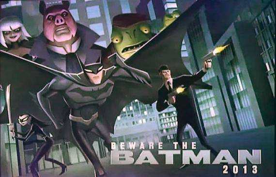 Beware the Batman Serie Completa Latino por Mega