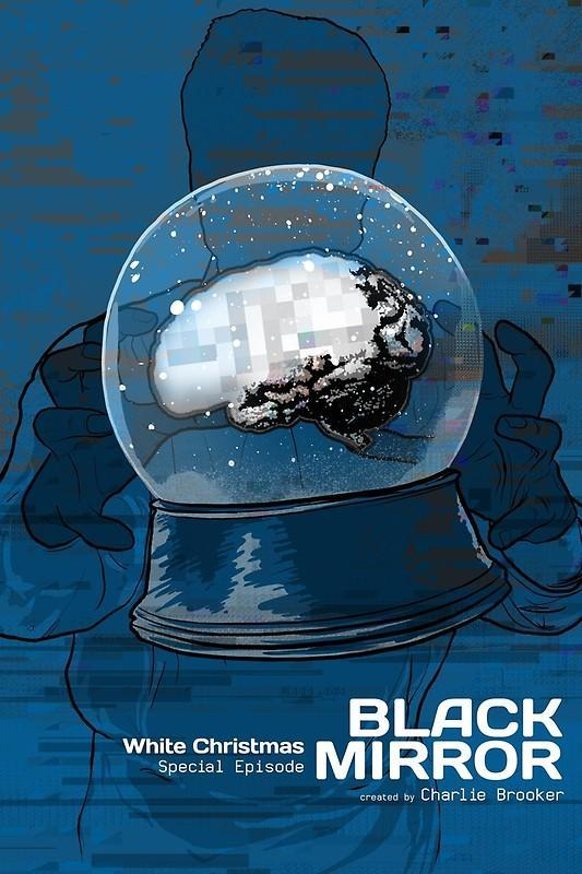 White Christmas Black Mirror Poster.Image Gallery For Black Mirror White Christmas Tv
