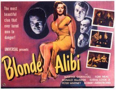 Blonde Alibi (1946) - Filmaffinity