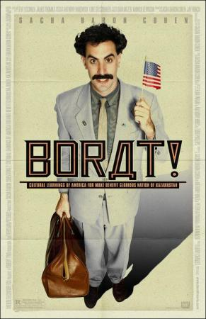 Borat: El segundo mejor reportero del glorioso país Kazajistán viaja a América
