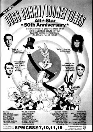 Bugs Bunny, Looney Tunes All Star 50º Aniversario