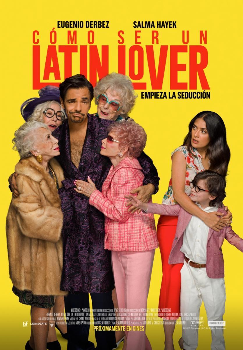 Cómo Ser Un Latin Lover (DVDRip Latino) 2017