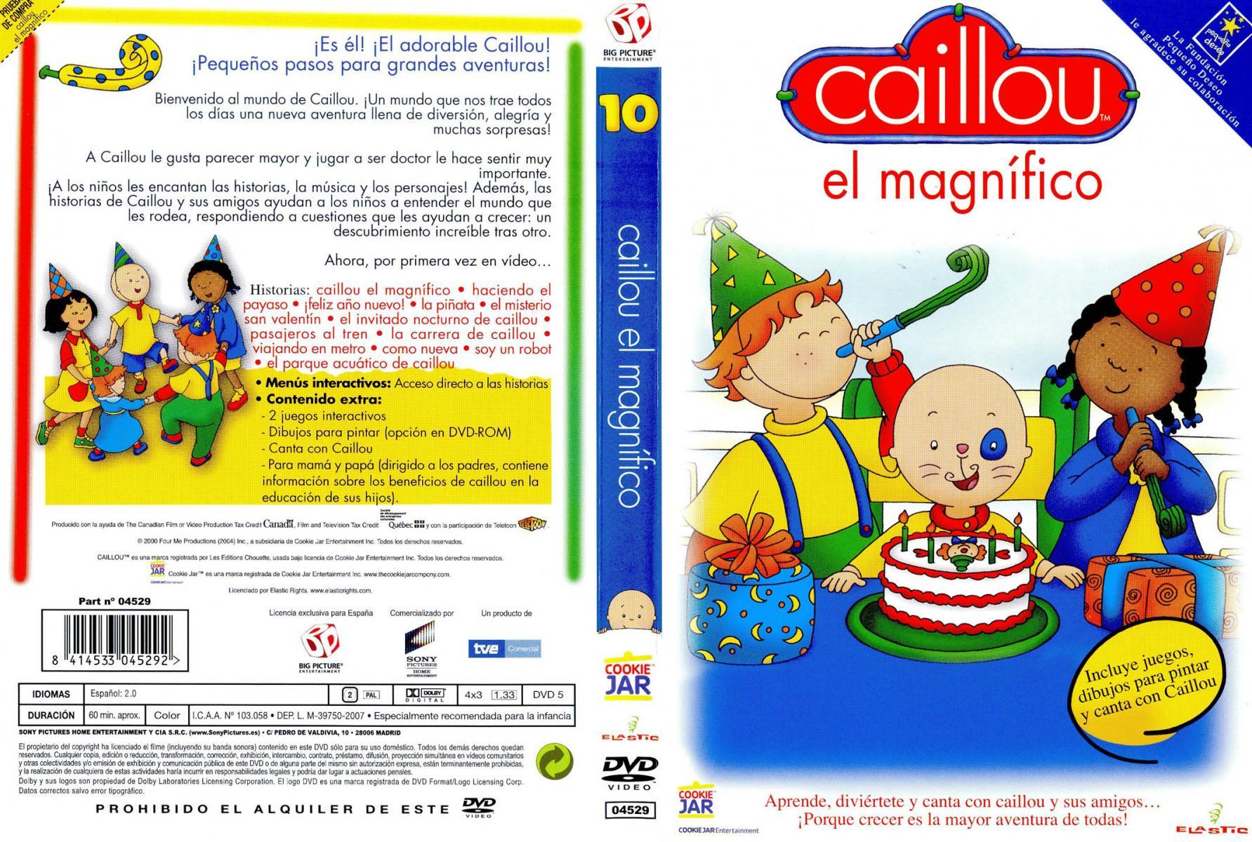 Image gallery for Caillou (TV Series) - FilmAffinity