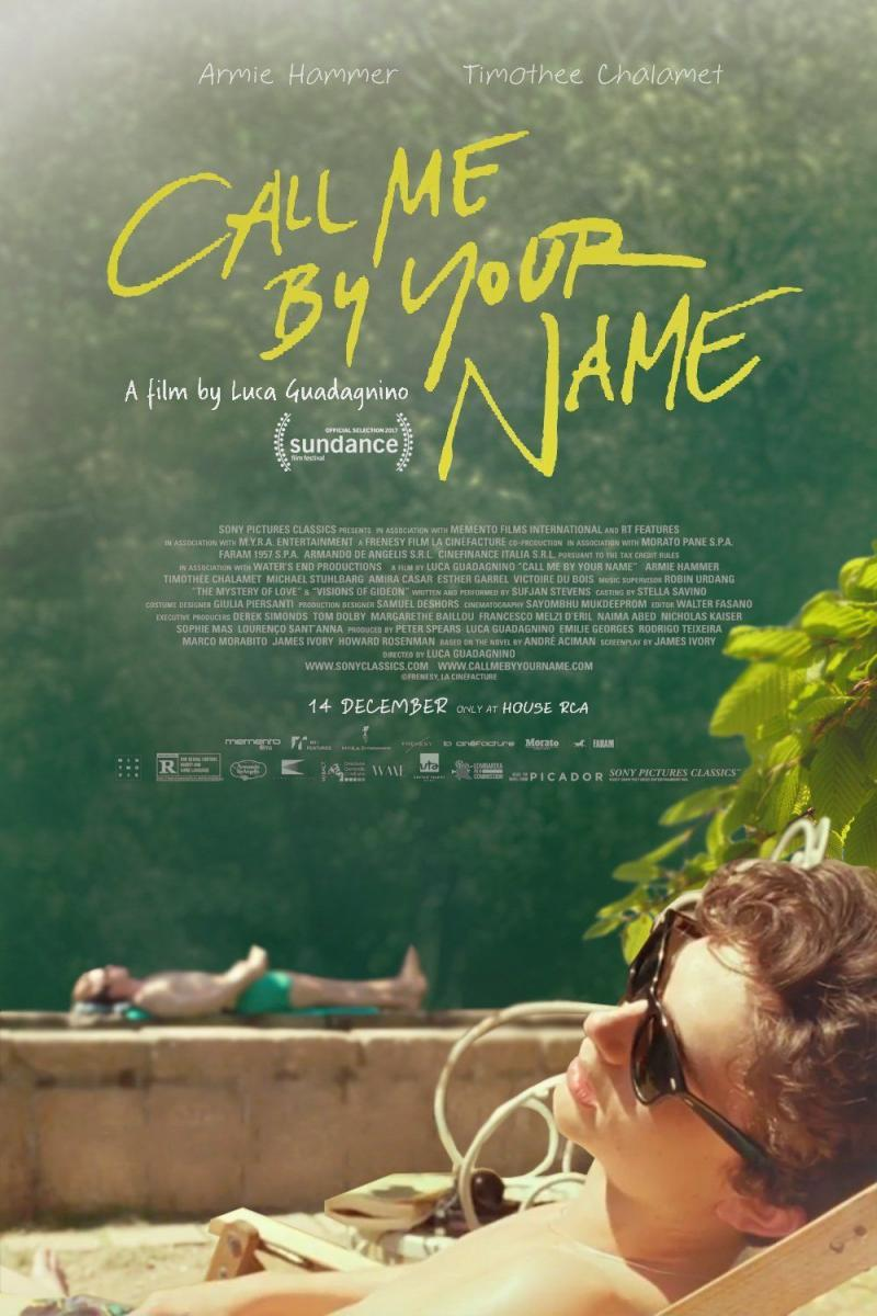 Call Me By Your Name 2017 Filmaffinity