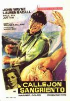 Callejón sangriento  - Posters