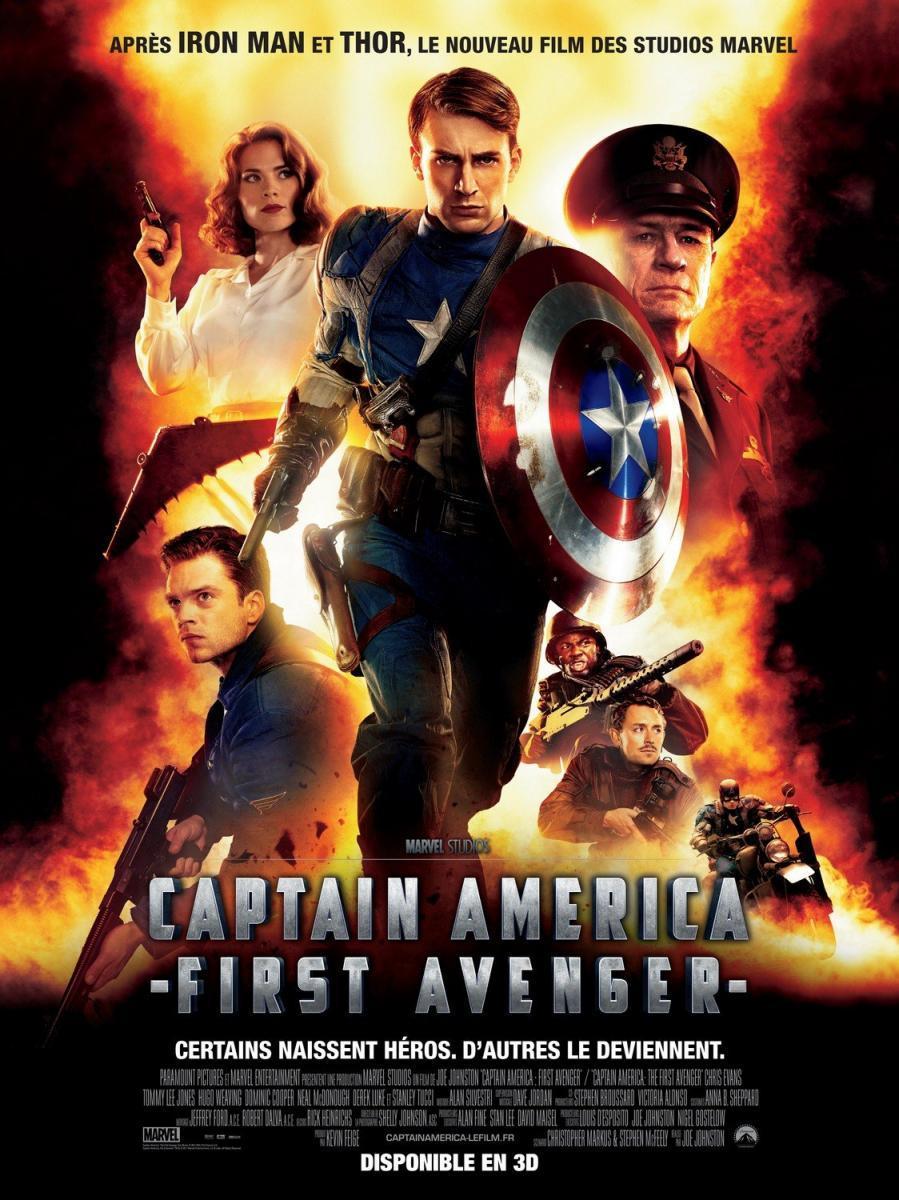 Capitan America El Primer Vengador 2011 Filmaffinity