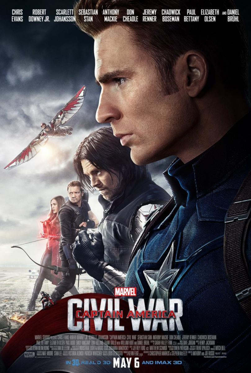 Captain America Civil War 2016 Filmaffinity