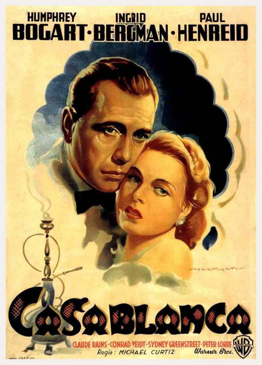casablanca propaganda World war ii movies – propaganda and patriotism in 1943 the film classic casablanca many other films were produced that served the needs of propaganda and.