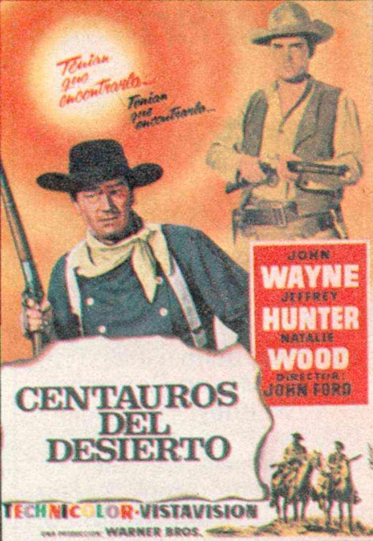 Centauros del desierto (1956) - Filmaffinity