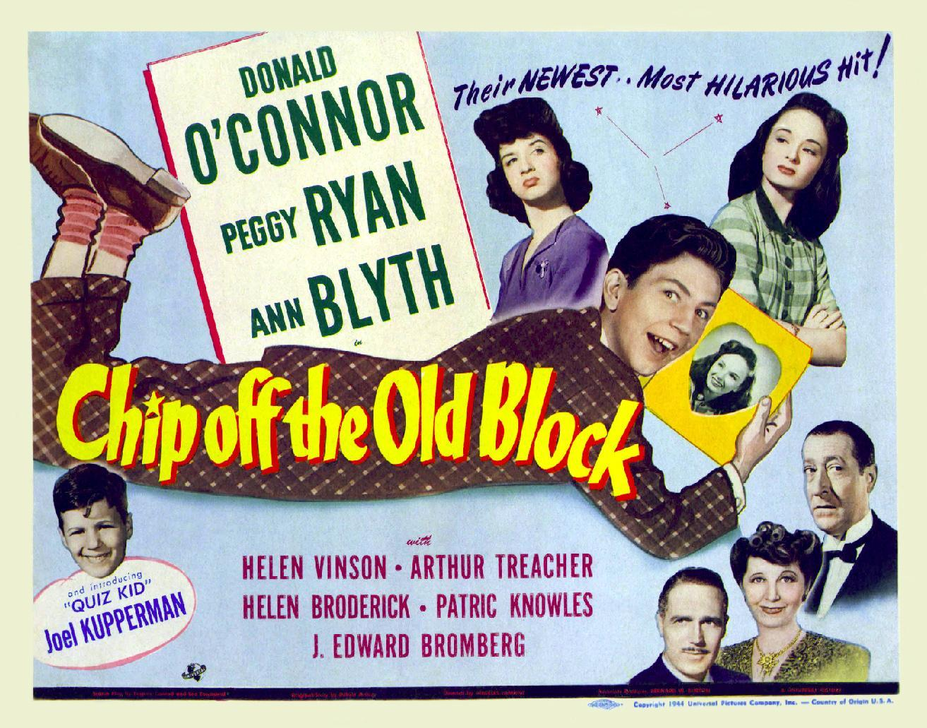Chip Off the Old Block (1944) - Filmaffinity