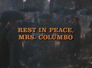 Colombo: Descanse en paz, señora Colombo (TV)