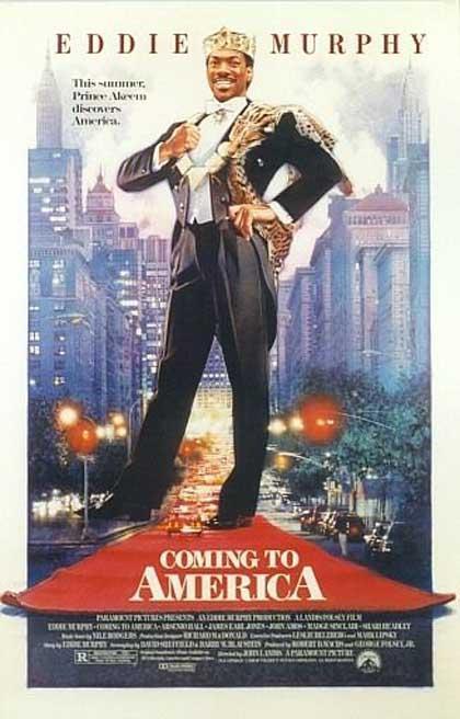 Coming To America 1988 Filmaffinity