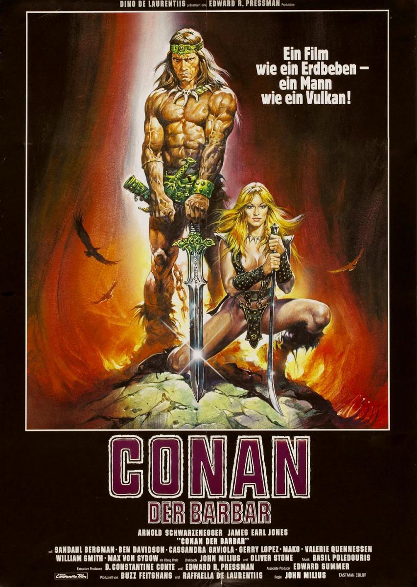 Resultado de imagen de Conan the barbar