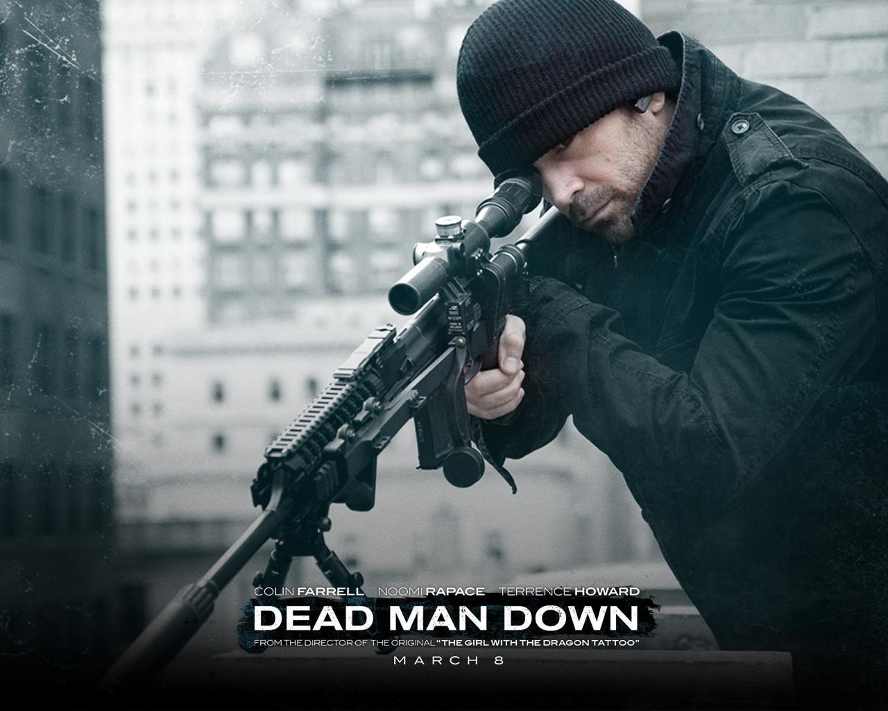 Dead Man Down Movie Wallpapers: Sección Visual De Dead Man Down (La Venganza Del Hombre