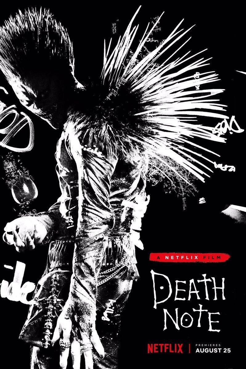 Death Note (WEBRip Latino – Ingles 1080p) 2017