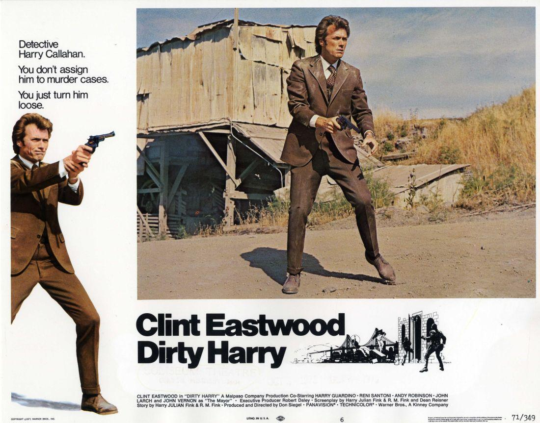 answering the dirty harry problem Dirty harry is a 1971 american action thriller film produced and directed by don siegel, the first in the dirty harry series the basic plot is about catching a serial killer who was based on a zodiac killer.