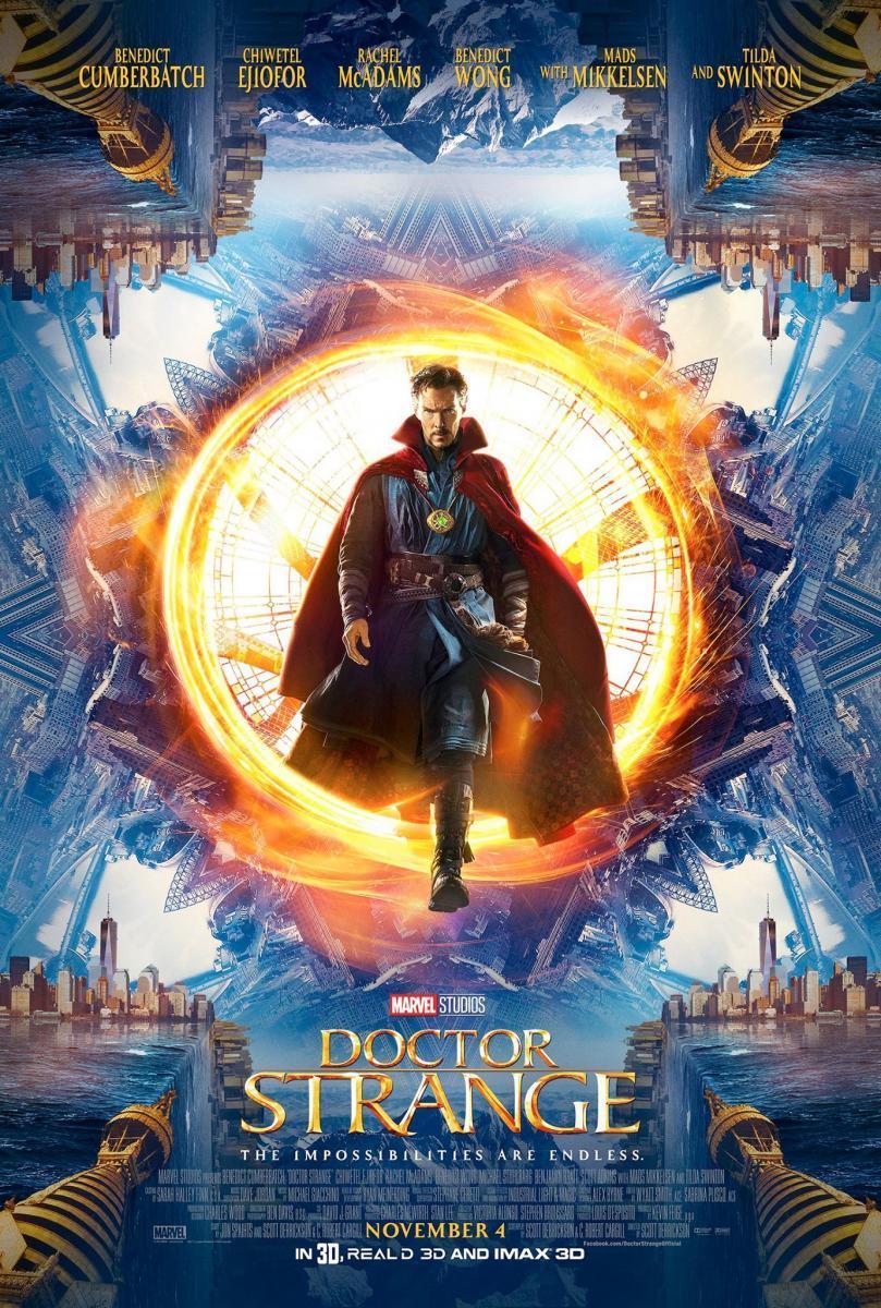 Doctor Strange Hechicero Supremo 2016 Filmaffinity