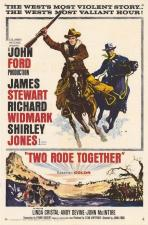 Dos cabalgan juntos