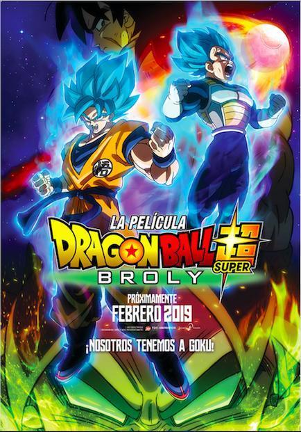 Dragon Ball Super: Broly (2018) BRRip 1080p Latino – Japones
