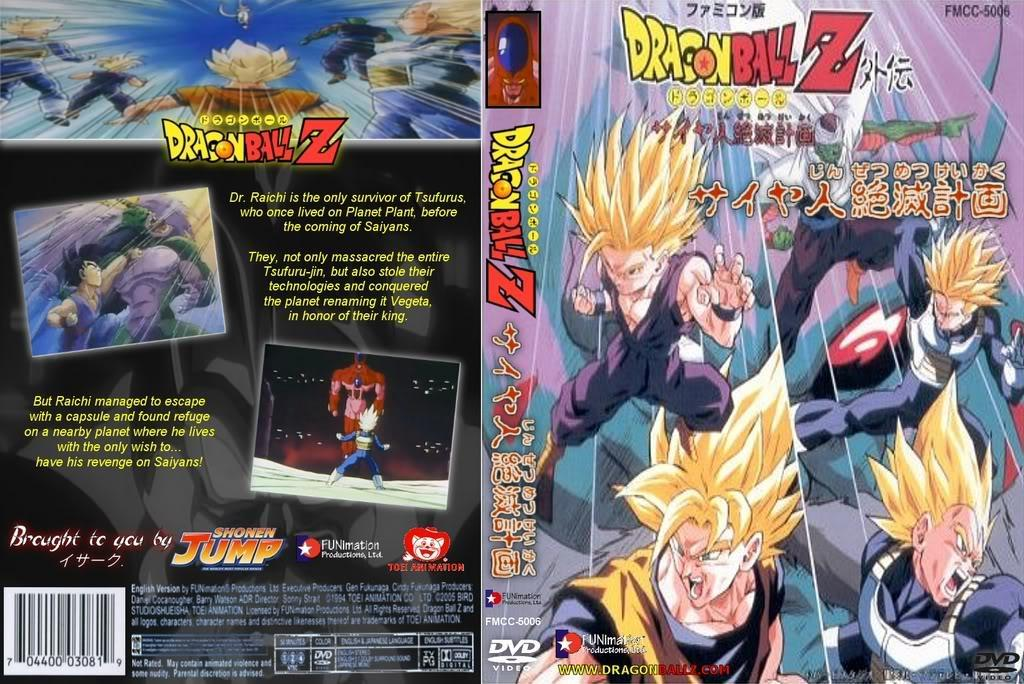Dragon Ball Z Plan To Destroy The Saiyans 1993 Filmaffinity