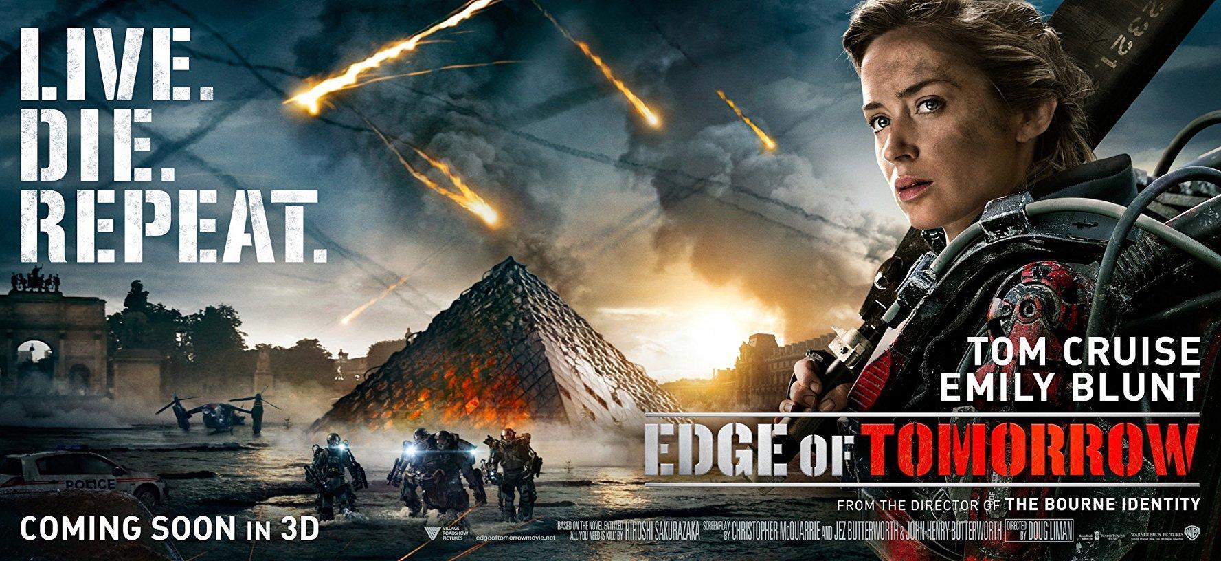 Edge Of Tomorrow 2014 Filmaffinity