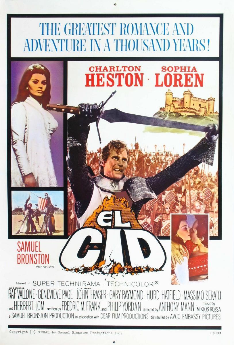 image gallery for el cid filmaffinity