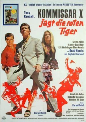 El Comisario X a la caza de los tigres rojos