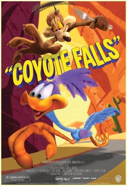RONDA 6.46 DEL BAMBOLEANTE CONCURSO DE MICRORRELATOS. ¿SALAQUÉ?  ¡SALAKOV! - Página 5 El_Coyote_y_el_Correcaminos_Coyote_Falls_C-973872979-large