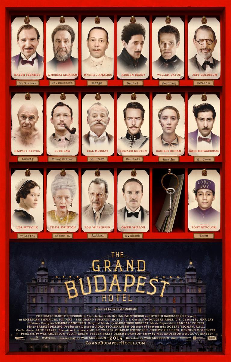 El Gran Hotel Budapest (2014) - Filmaffinity