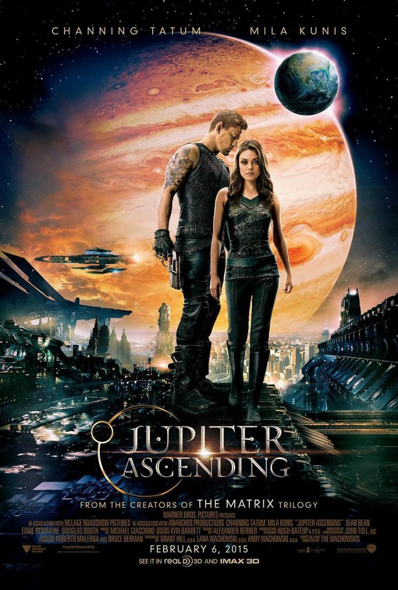 Destino Júpiter, Jupiter Ascending, película, ciencia ficción,
