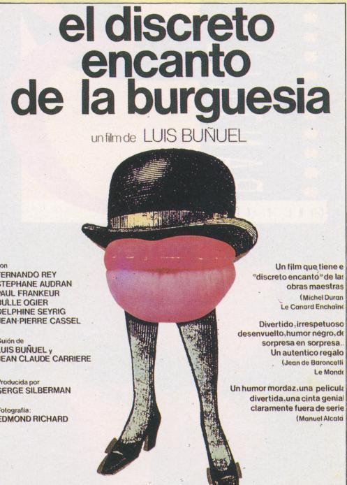 Sección visual de El discreto encanto de la burguesía - FilmAffinity