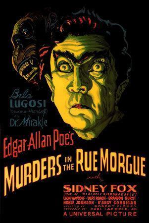 El Doble Asesinato En La Calle Morgue (1932)