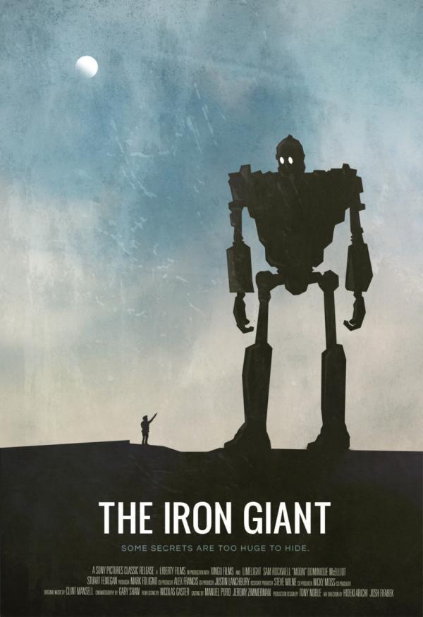 An analysis of the movie the iron giant by brad bird
