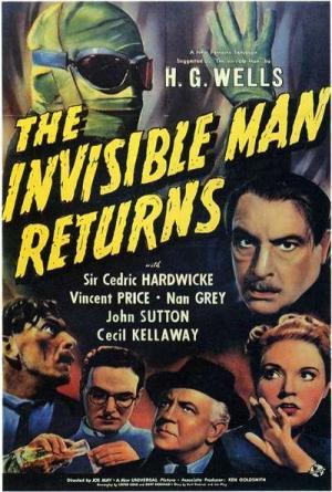 El hombre invisible vuelve