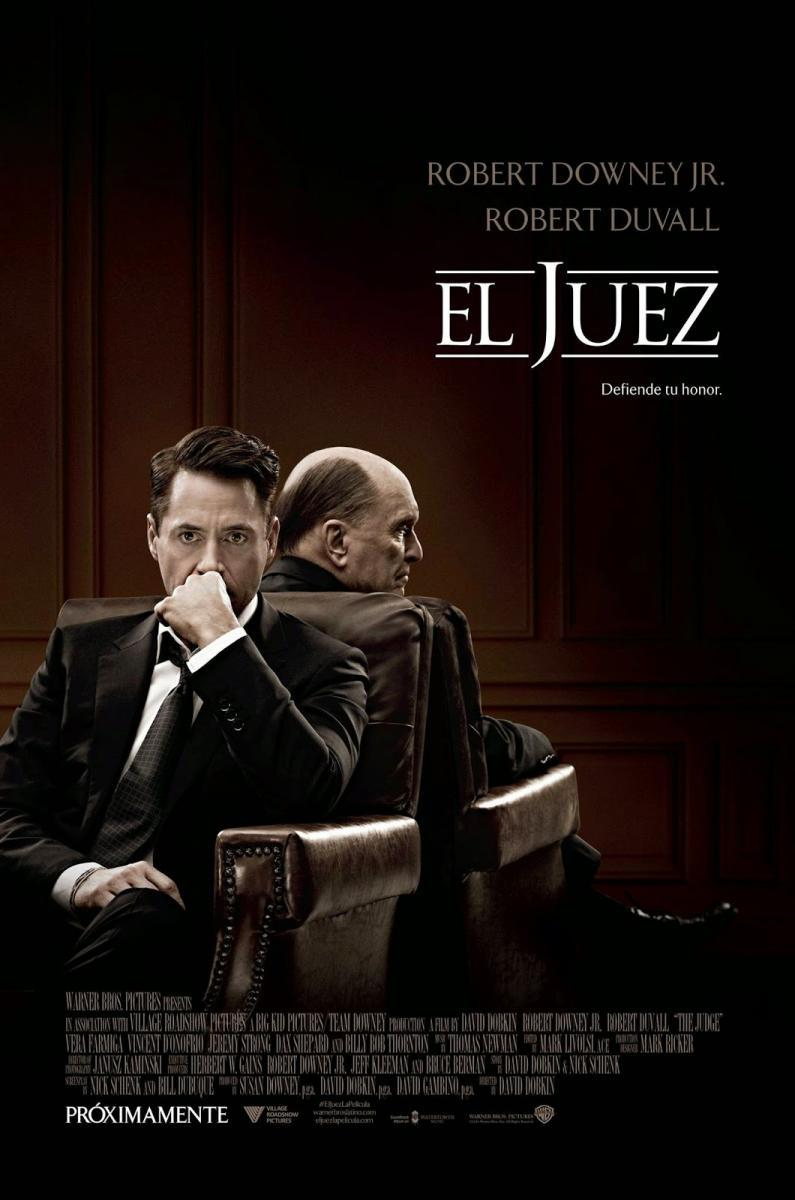 El Juez (BRRip Latino – Ingles 720p) 2014