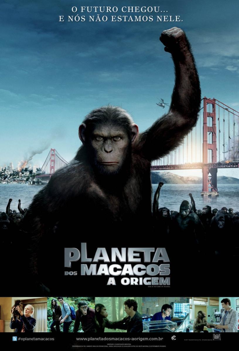 Sección visual de El origen del planeta de los simios