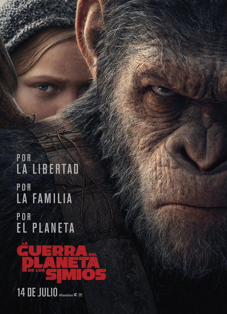El Planeta De Los Simios: La Guerra (DVDRip Latino) 2017