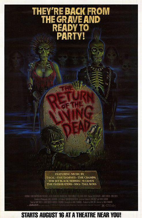El Regreso De Los Muertos Vivientes 1985 Filmaffinity
