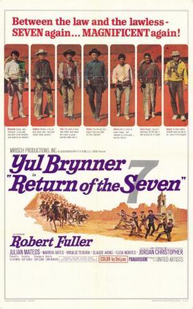 El regreso de los siete magníficos