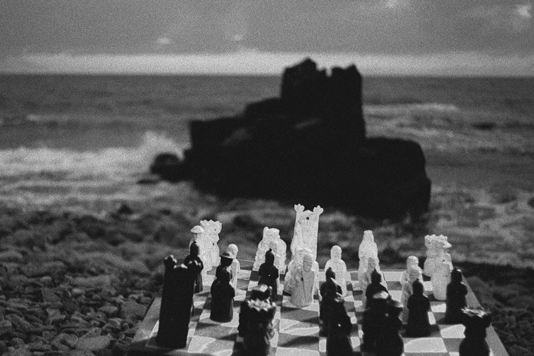 El séptimo sello, dirigida por Ingmar Bergman. Cine y ajedrez.