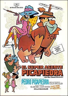 El super agente Picapiedra  - Posters