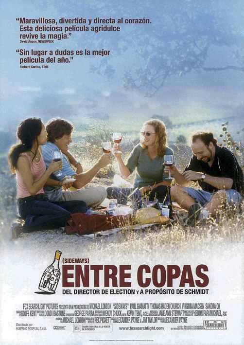 Entre copas - Posters