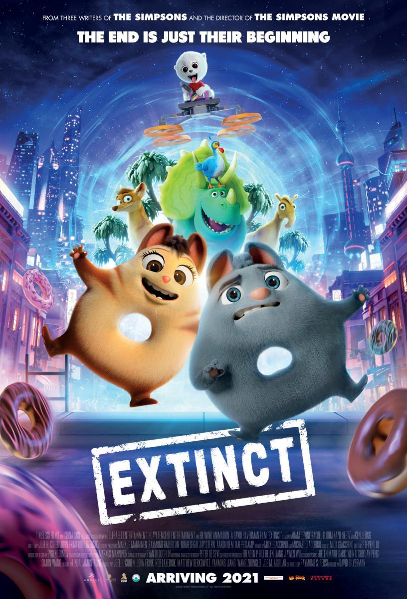 Extinct (2021) - Filmaffinity