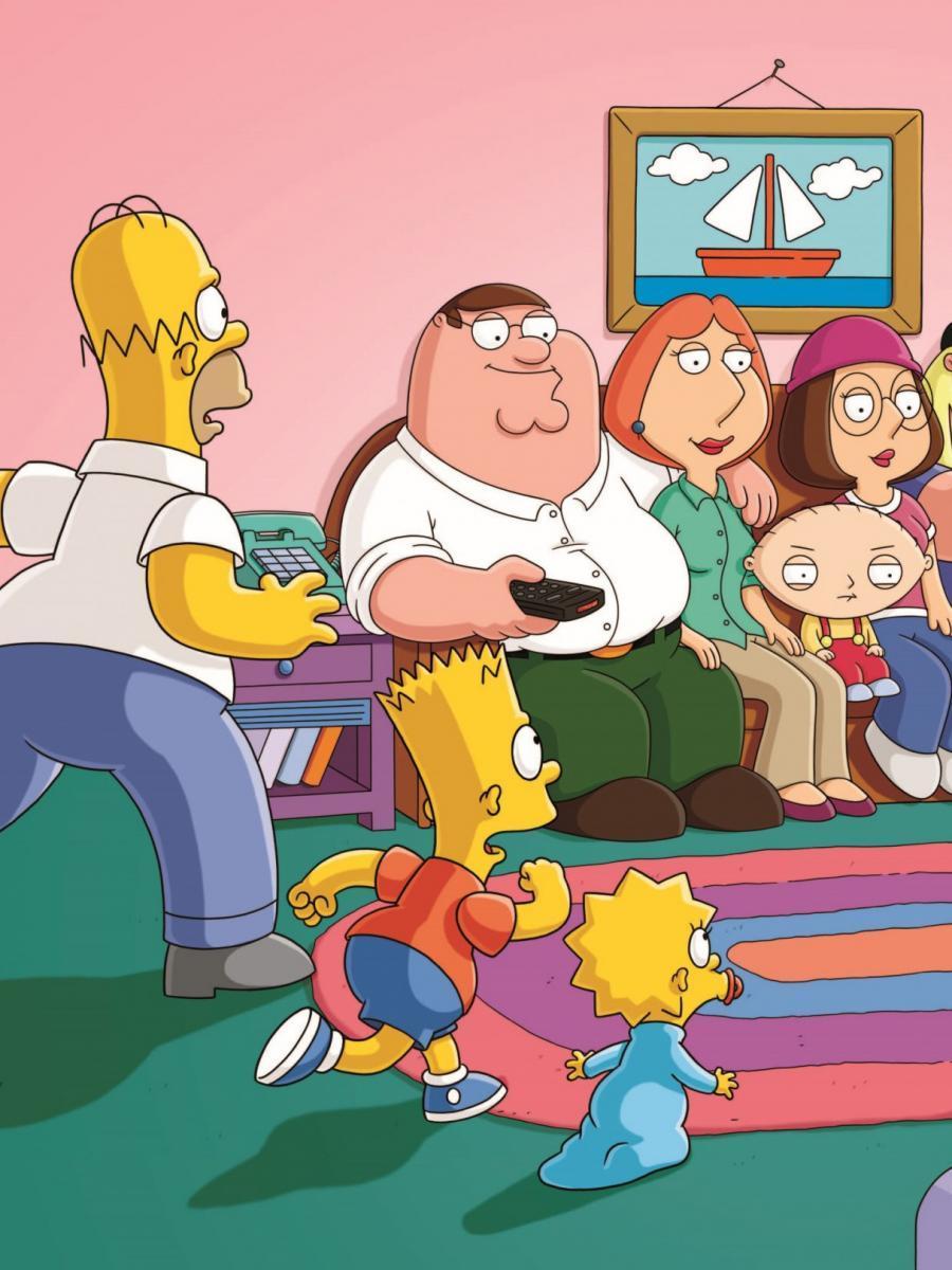 "Guy Die Simpsons Family ""Family Guy"""