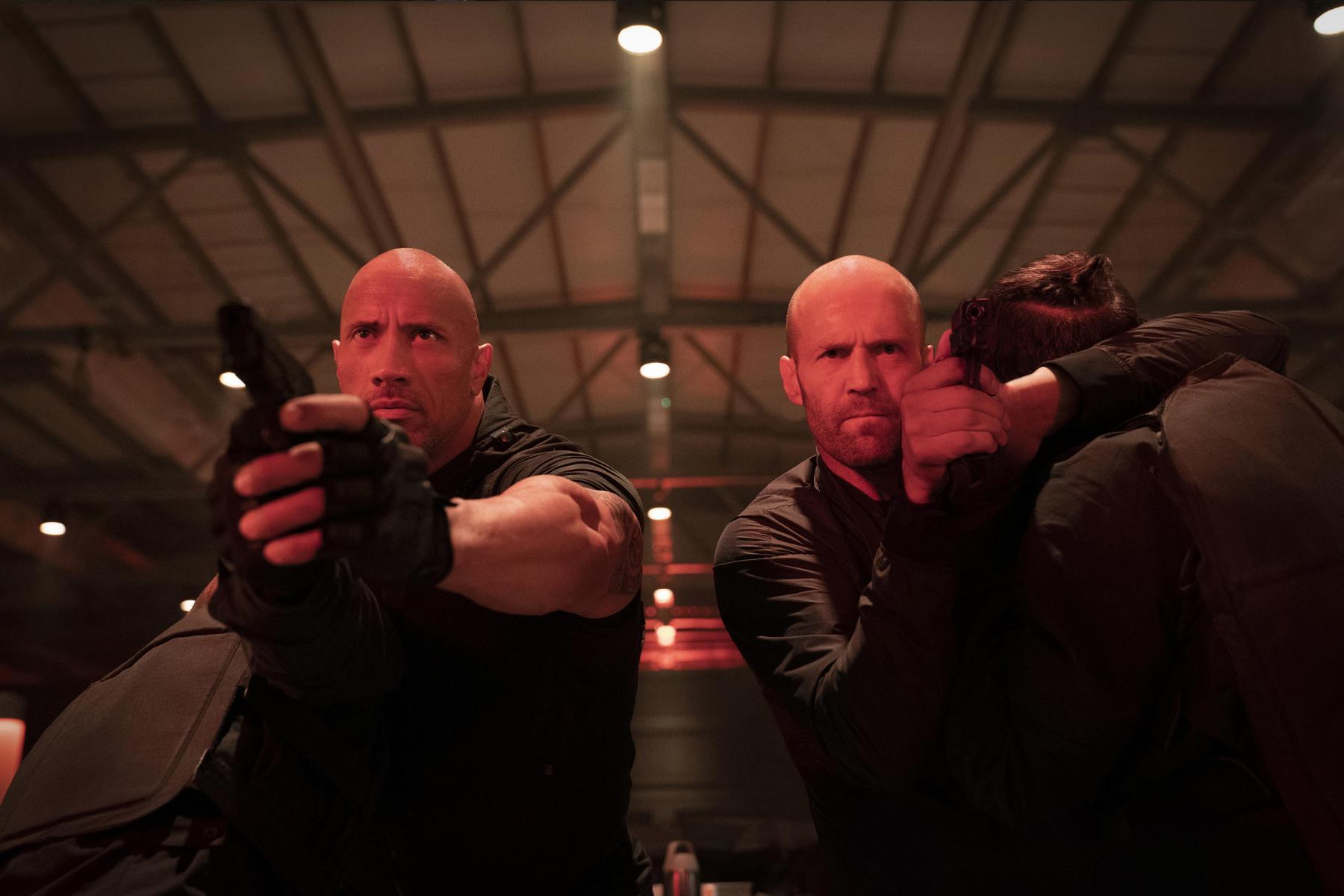 Hobbs & Shaw 2 The rock rápido y furioso