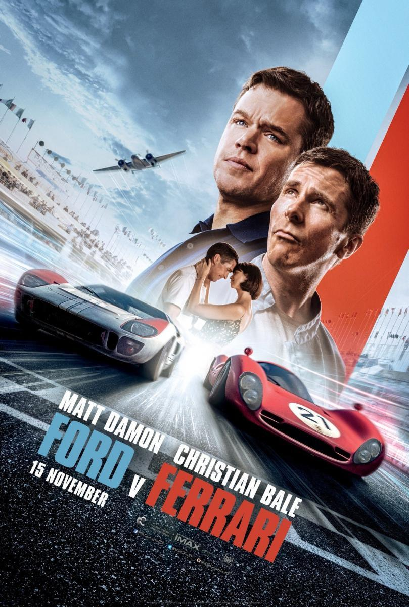 Ford v Ferrari 2019 Dual Audio Hindi Movie HD Torrent