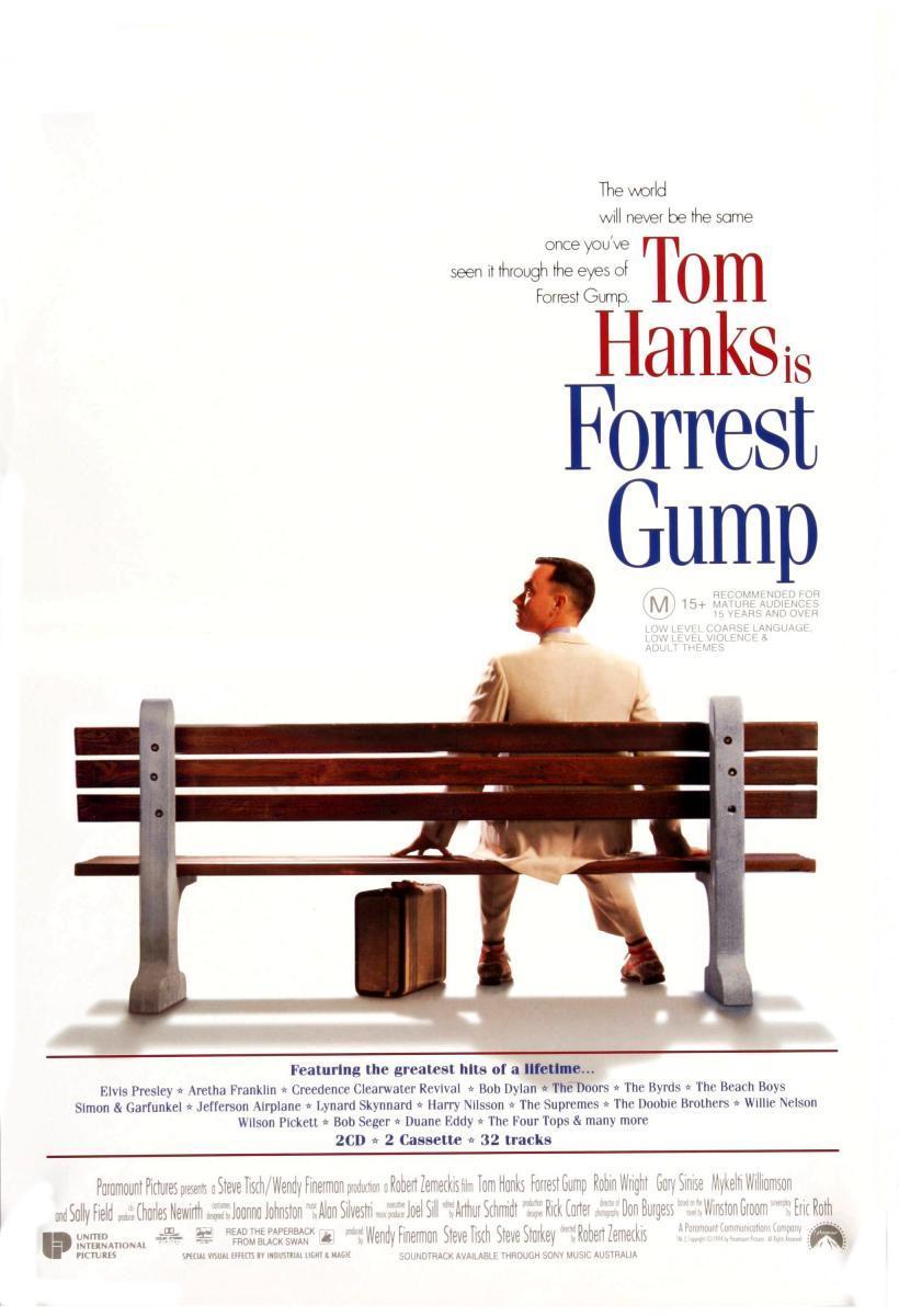 Forrest Gump 1994 - Robert Zemeckis ile ilgili görsel sonucu