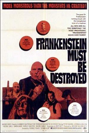 Frankenstein debe morir