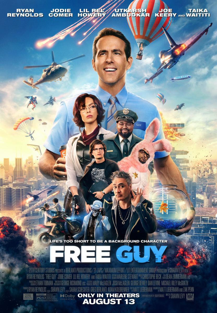Free Guy Tomando El Control 2021 Filmaffinity