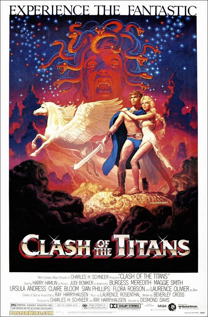 Furia de titanes  - Posters